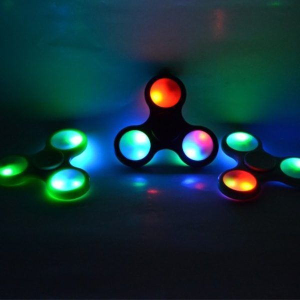 fidget spinner led lučke